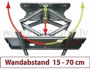 Tv Wandhalterung Ausziehbar 150 Cm : schwenkbare wandhalterung 37 65 zoll modell 811 ~ Yasmunasinghe.com Haus und Dekorationen