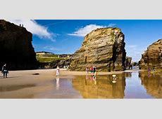Ribadeo As Catedrais beach Galicia, Spain beach