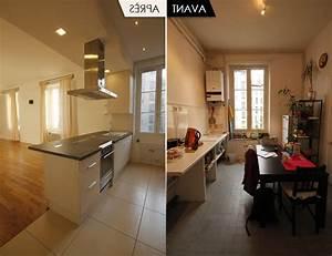 decoration cuisine ouverte sur sejour With photo de cuisine ouverte sur sejour