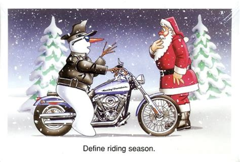 Motorcycle Christmas Cards, Different Cards To Choose From