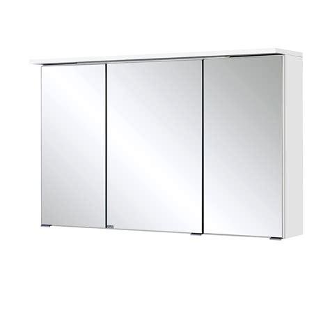 spiegelschrank bad 100 cm breit bad spiegelschrank bologna 3 t 252 rig mit led lichtleiste