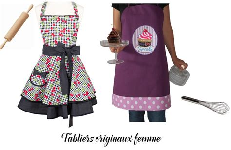 tablier cuisine original tablier femme original le de cuisine qui petille
