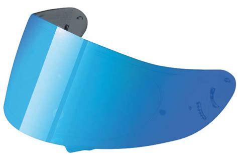 shoei nxr visier shoei nxr visier cwr 1 blau verspiegelt helm more m 252 nchen