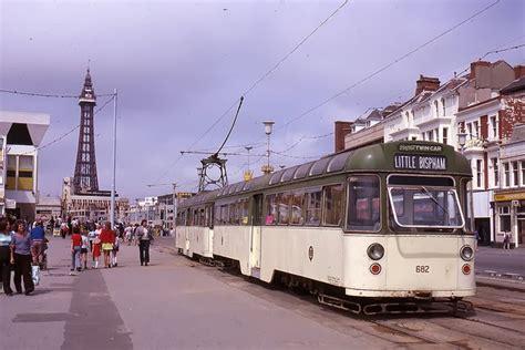 tramways  blackpool    vintage everyday