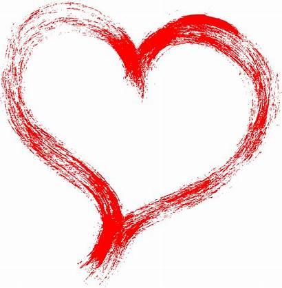 Heart Brush Stroke Grunge Transparent Onlygfx Px