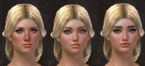 Gw2 New Total Makeover Kit Faces  Dulfy
