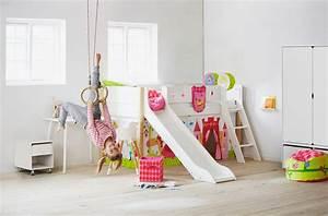 Kinderzimmer Mit Hochbett Und Rutsche : 60 hochbett mit rutsche ideen f r m dchen und jungen muttiflei ~ Frokenaadalensverden.com Haus und Dekorationen
