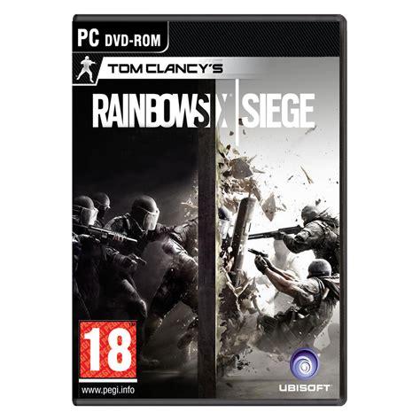 jeux de siege rainbow six siege pc jeux pc ubisoft sur ldlc