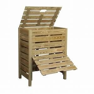 Composteur De Balcon : composteur bois 400 l jardipolys plantes et jardins ~ Melissatoandfro.com Idées de Décoration