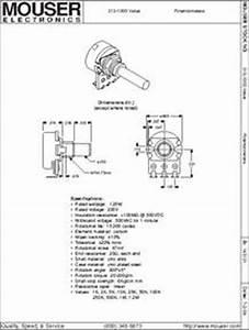 Rv16af-10-15r1-b100k Datasheet