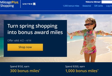 earn    bonus united miles  mileageplus
