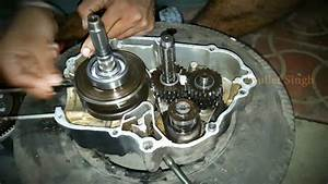 How It U0026 39 S Made  Hero Honda Full Engine Fitting