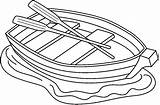 Boat Row Clipart Clip Coloring Outline Rowboats Sketch Canoe Template Rowing Clipground Cliparts Boats Pages Google Para Bw Popular Library sketch template