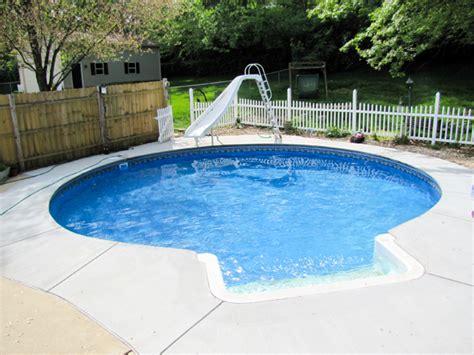 27' Round Inground Swimming Pool Kit With 42'' Polymer