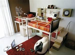 Chambre Deco Industrielle : belle d coration chambre ado industrielle ~ Zukunftsfamilie.com Idées de Décoration