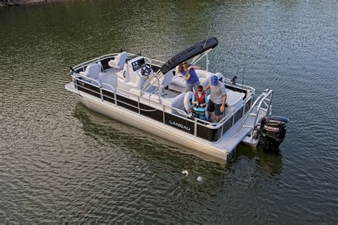 Pontoon Fishing Boat Company by Products Landau Boats