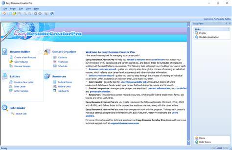 Easy Resume Maker by Easy Resume Creator Pro 4 22