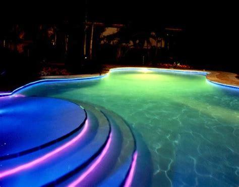 fiber optic pool lights  winlightscom deluxe interior