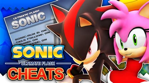 Ultimate Flash Sonic  How To Unlock Shadow, Amy & Other