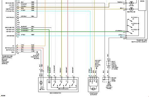2002 Chevy Silverado 2500 Wiring Diagram by No 4 Wheel Drive 2002 Silverado 2500 Hd 6 0l Replaced
