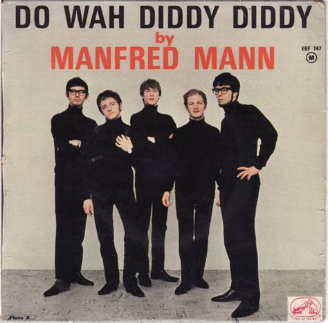 Do Wah Diddy Diddy 45 By Manfred Mann  Muskmellon's Blog