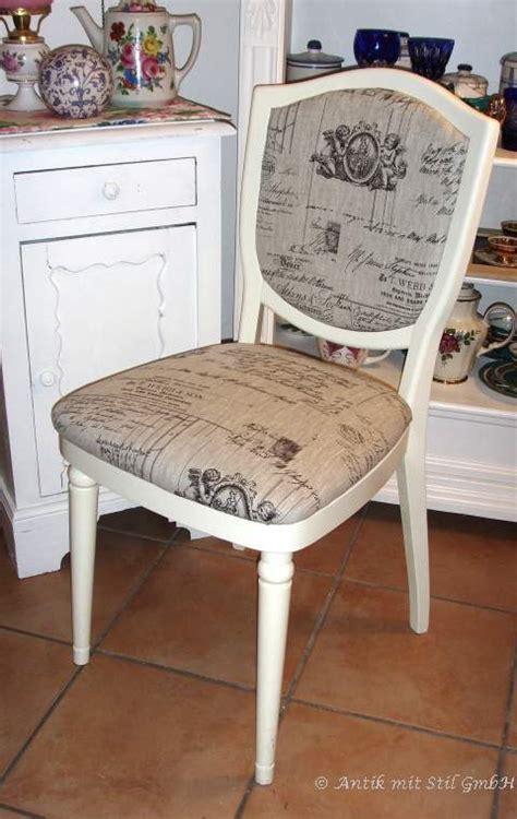 stuhl shabby chic stuhl st 252 hle shabby chic weiss vintage landhaus engel putten neu restauriert ebay