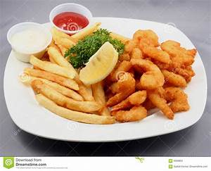 Plate Of Fried Food Stock Photos - Image: 4056903