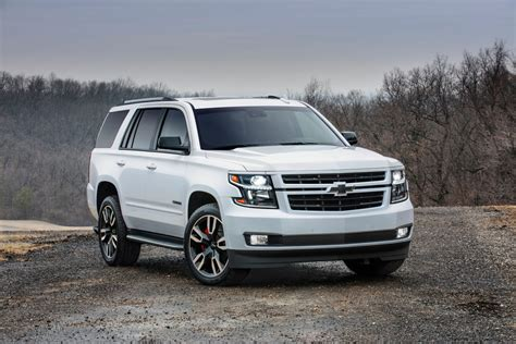 Height Of Chevy Tahoe by 2018 Chevrolet Suburban And Tahoe Rst Preview News