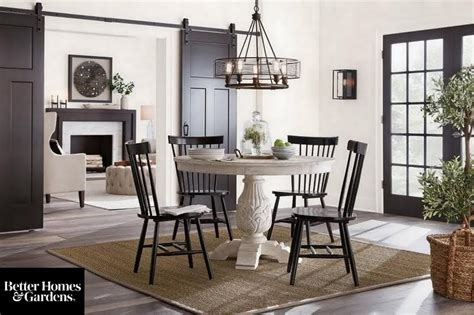 global farmhouse dining room dining room  home depot