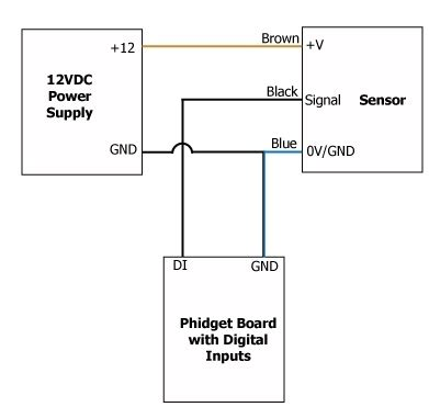 inductive proximity sensor wiring diagram wiring diagram and schematic diagram