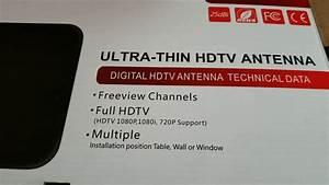 Free Tv Channels Digital Ultra Thin Hdtv Antenna