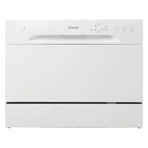 Danby Countertop Dishwasher Reviews by Danby Portable Dishwasher In White With 6 Place Setting