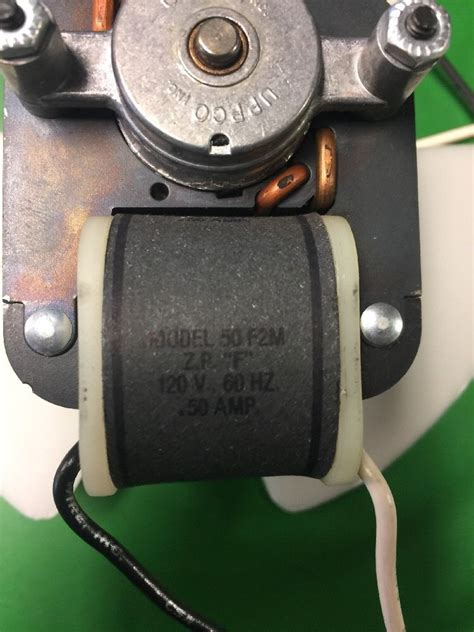 120 volt fan motor new uppco model 50 f2m electric ac motor fan 6 5 120 volts