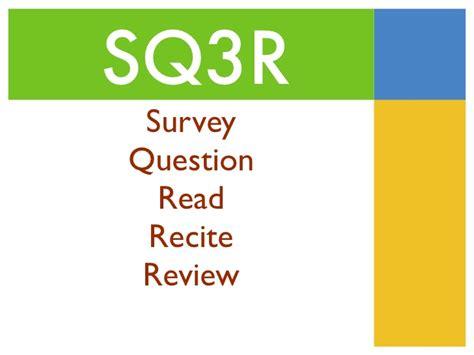 sq3r survey presentation sq3r
