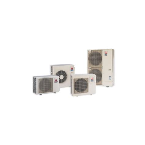 Mitsubishi Ducted Mini Split System by Mitsubishi Installed P Series Indoor Horizontal Ducted