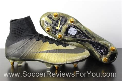 nike mercurial superfly  cr rare gold review soccer