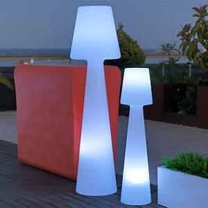 Lampe D Extérieur : lampadaire ext rieur led multicolore sans fil en ~ Teatrodelosmanantiales.com Idées de Décoration