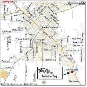 Fredericksburg Texas On Map