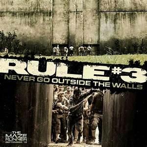 Rule #3 The Maze Runner | The Maze Runner | Pinterest ...