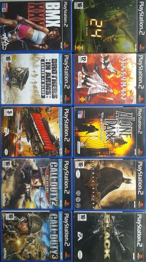 Mi Coleccin De Juegos Playstation 2 3djuegos