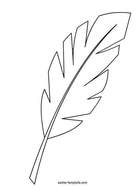 paper leaf template hosanna palm leaf easter stencils easter easter templates and paper leaves