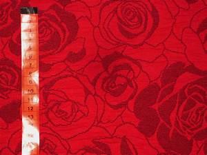 Stoff Mit Rosenmuster : herzens stoffe der onlineshop f r farbenfrohe stoffe rosen rot grau ~ Buech-reservation.com Haus und Dekorationen