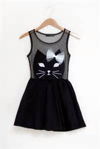 cat dress dressed up