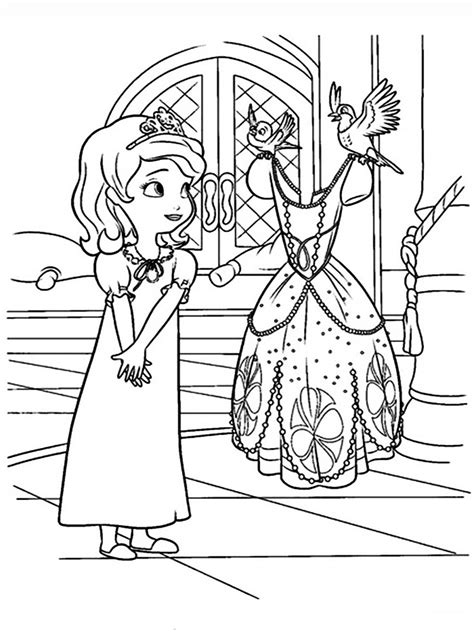 sofia   coloring pages  printable sofia   coloring pages