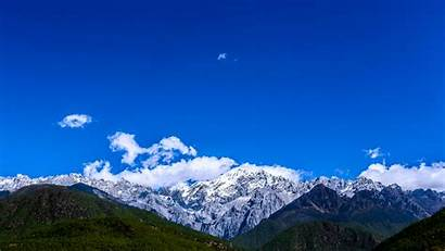 Mountain Dragon Jade Snow Yunnan Mont Enneige