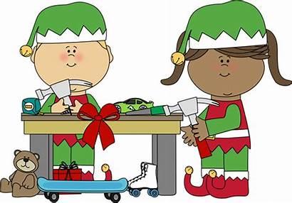 Elves Calling Making Toys Elementary Again
