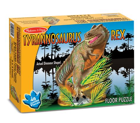 And Doug Dinosaur Floor Puzzles by T Rex Floor Puzzle 48 Pc By Doug 431 Eugene