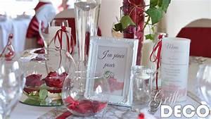 Deco Mariage Rouge Et Blanc Pas Cher : deco mariage bordeaux et blanc gy12 jornalagora ~ Dallasstarsshop.com Idées de Décoration