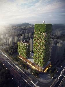 """Asia's First """"Vertical Forest"""" To Combat China's Pollution ..."""