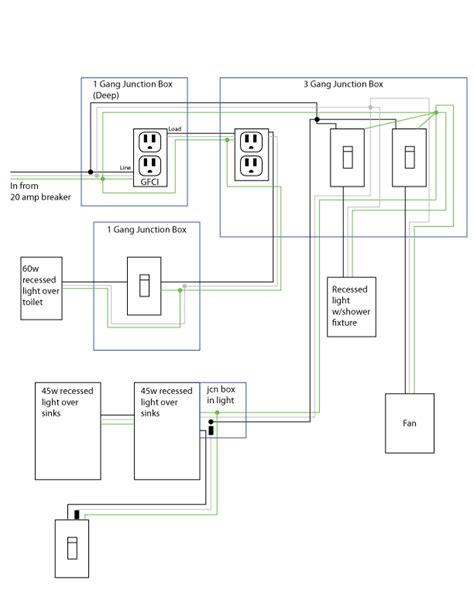 Electrical How Should Address Bathroom Flickering